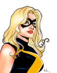 Mike McKone Ms Marvel Colored by TheRhaze