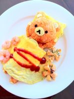 Would you eat this defenseless rilakkuma? by LemonSqueezey