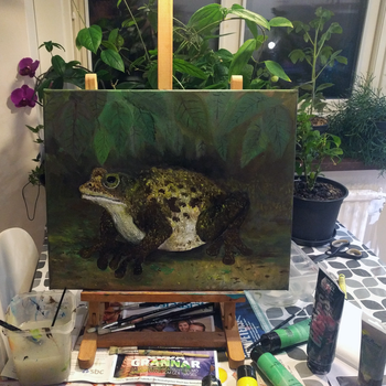 frog wip by rubbe