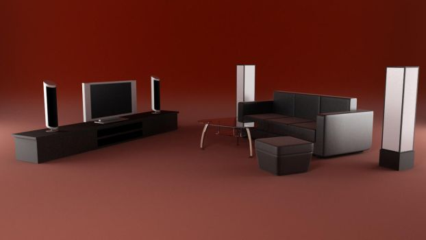 Living Room concept by dalipro
