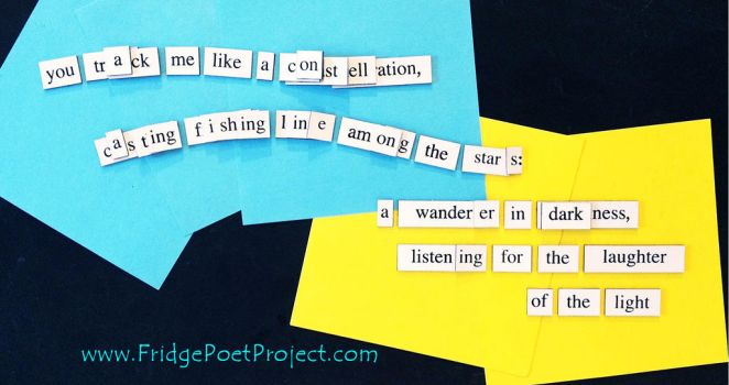 The Daily Magnet #363 by FridgePoetProject