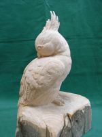 Cockatoo Sculpture by CaptainHobel