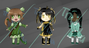 Chibi Batch #1 ( purchases pending | 20 pts ) by Berri-Adoptable