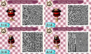 AC New Leaf - Design #9 'Germany Away Jersey' by xNiciCupcake