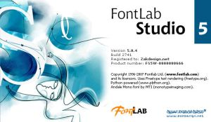 Fontlab Studio 5.0.4 by zakdesign