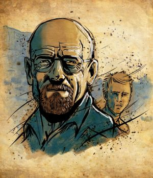 Walter and Jesse by RonBatchelor