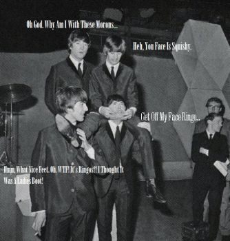 Ringo's Tall. For Once. by monieo