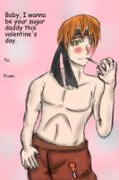 Suggestive Valentine Card #1 by TheBirthdayMuffin