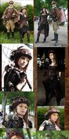 Steampunk auf der Animagic 2014 by eente