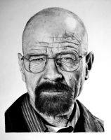 Walter White Breaking Bad(Bryan Cranston) pen 2015 by BORJICH