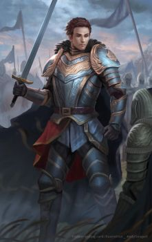 Gerald The victor by andyliongart
