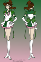 Eternal Sailor Jupiter colored by LaMoonstar