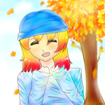Kotoura- ''I love Fall!'' by taliatheotaku