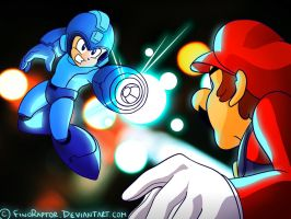 Megaman joins the action!! Super Smash Bros E3 by FinoRaptor