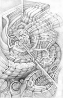Intricate engine by farboart