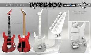 Jackson Dinky Guitar RB2 by NateHallinanArt