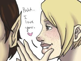 Psssht I love you by BRAY-Inque