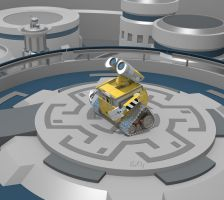 New Earth-New Wall-E Wallpaper HD (For Portable) by PixelOz