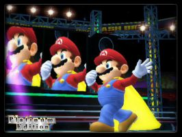 Super Smash Bros Wii U: Mario by weegeeish