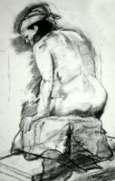 Life Drawing IV by KerrithJohnson