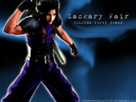 Zack Fair Wallpaper by OhSweetSerenity71892