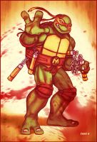 Bad Mike - Ninja Turtles by EddieHolly