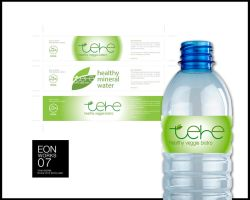 TEHE BISTRO Bottle Label by eonworks