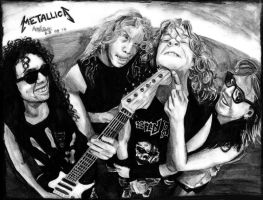 Metallica '87 by Red-Szajn