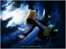 [oc] i'm gonna fly by benzyl-E
