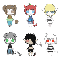 Humanoid Adoptables[Open] by Altorhapsody