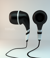Concept Headphones by Ng01