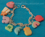 Lucky Charms Bracelet 2.0 by DeliciousTrickery