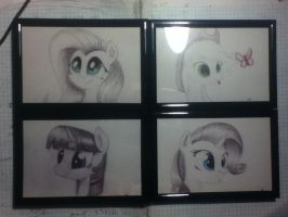 Framed and ready to sell :D by AppleBeard