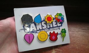 Pokemon Badges by Rossay