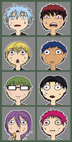 KnB skype or tumblr icons for you and your buds #1 by roseannepage