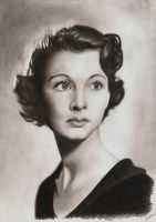 Vivien Leigh by AmBr0