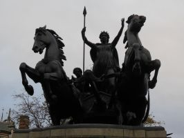 Queen Boadicea by Thomas Thornycroft by rlkitterman