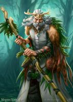 Magnus Ignis - Druid regular by PeterLumby