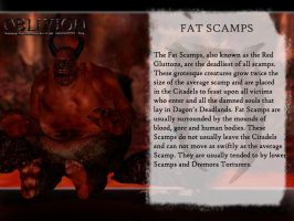 Dagon's Creatures: The Fat Scamps by jag1221