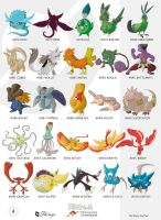 Pokemon Oryu shiny collection4 by shinyscyther