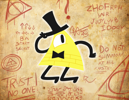 Gravity Falls - Bill Cipher by Renan43