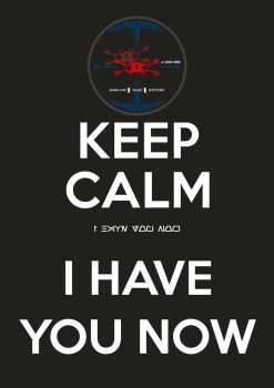 Keep Calm I Have You Now by DJToad