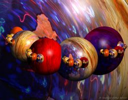 Planets Alliance by Fractal-Kiss