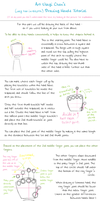 Drawing Hands Tutorial by ArtUsagiChan