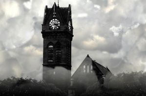 darkened church by itzthedave