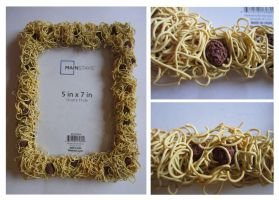 Spaghetti and Meatballs Picture Frame by FlamingChickCreation