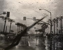 A Rainy Day in California by vi0lentvicky
