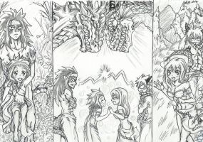 NaLu - GaLe  Against All Instincts For Mates by Inubaki