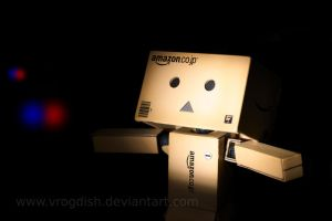 Danbo ! Don't Move !! by Vrogdish