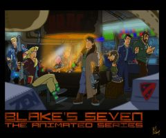 Blake's 7 The Animated Series by Kmadden2004